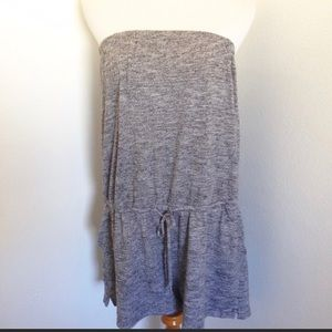 Banana Republic Strapless Romper with pockets